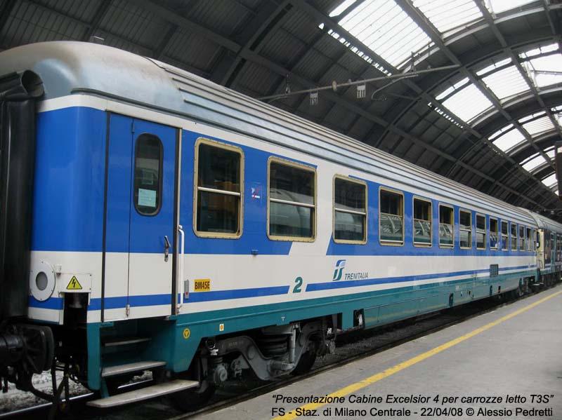 Carrozza Letto Excelsior : Trasporti pubblici
